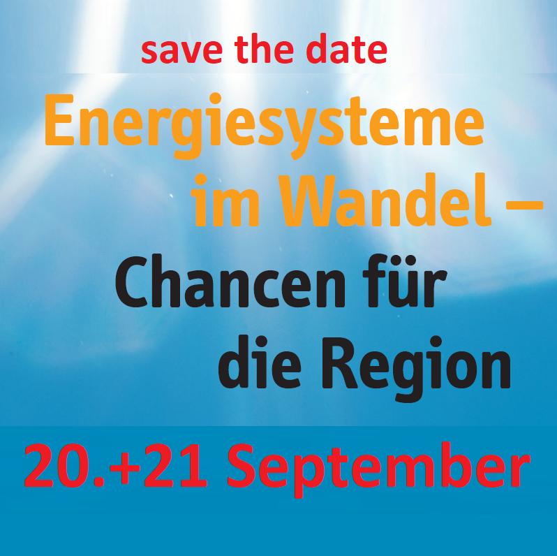 Fachtagung: Energiesysteme im Wandel
