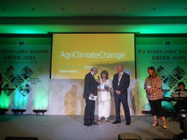 """""""AgriClimateChange"""" Projekt mit dem Green Award der Europäischen Kommission ausgezeichnet"""