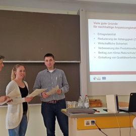 LIFE AgriAdapt – Besuch der Fachschule für Landwirtschaft Ravensburg