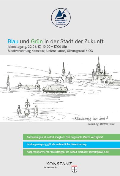 Kompetenzzentrum Wasser Bodensee e.V. Jahrestagung 2017