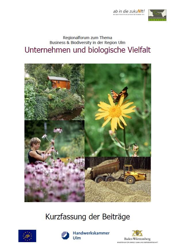 """Unternehmer entdecken die biologische Vielfalt – die Dokumentation des Regionalforums """"Unternehmen und Biologische Vielfalt"""" ist jetzt verfügbar"""