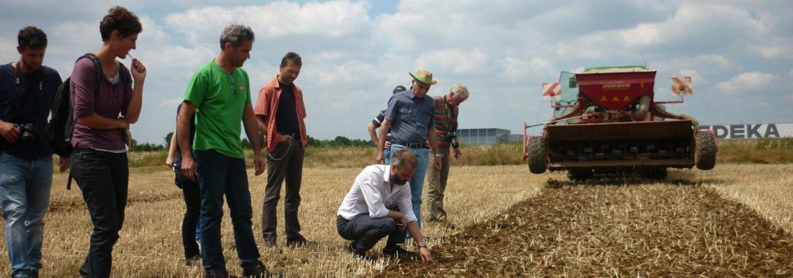 LIFE AgriAdapt – Demonstrations-Workshop zu Bodenstruktur und Bodenleben