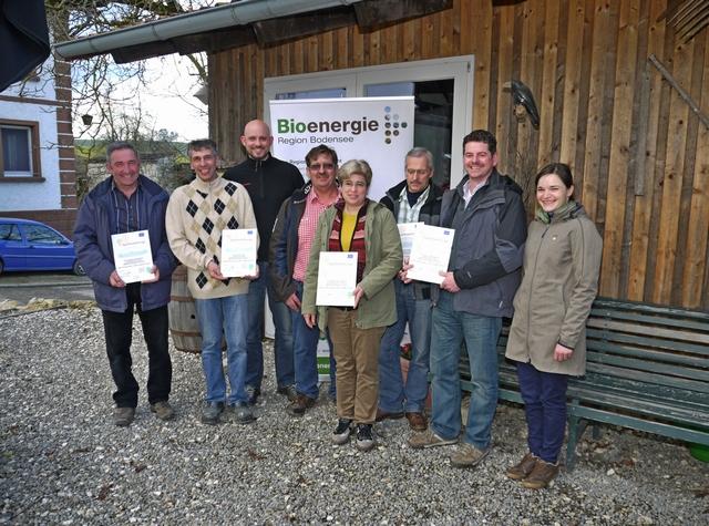 Biogasbetriebe werden für Klimaschutz ausgezeichnet