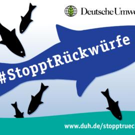 Wir unterstützen die Protestaktion #StopptRückwürfe der DUH