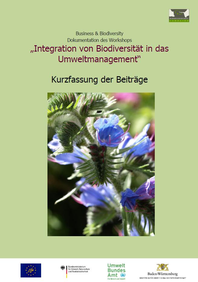 Biodiversität und Umweltmanagement – Dokumentation des Workshops jetzt online